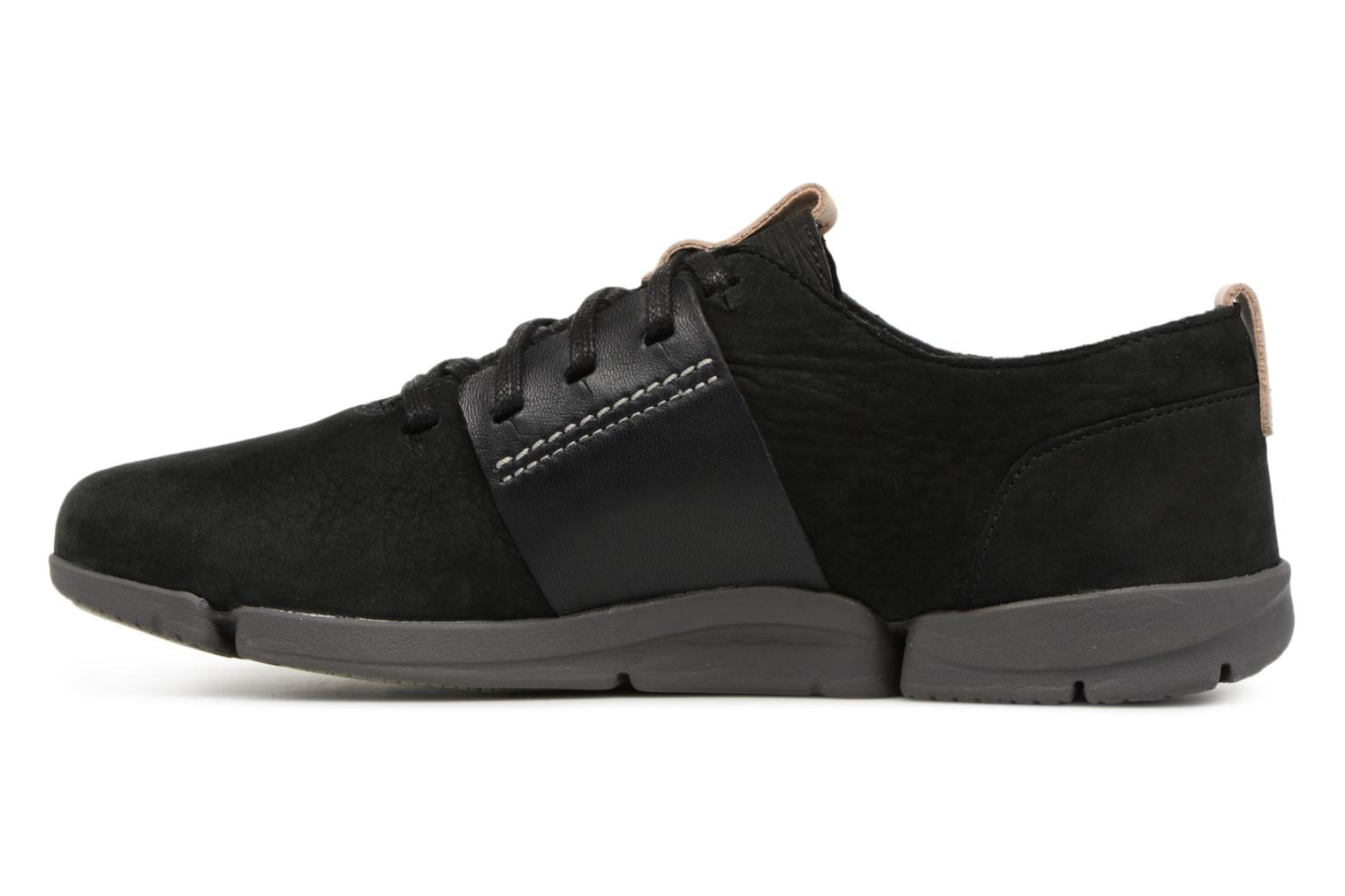 Trainers Clarks Tri Caitlin Black front view