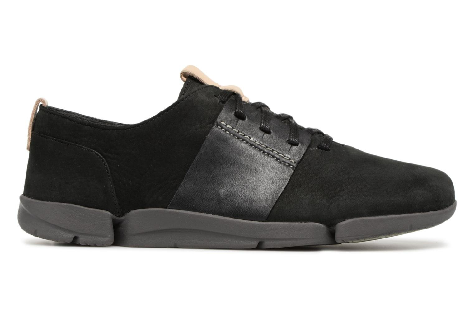 Trainers Clarks Tri Caitlin Black back view