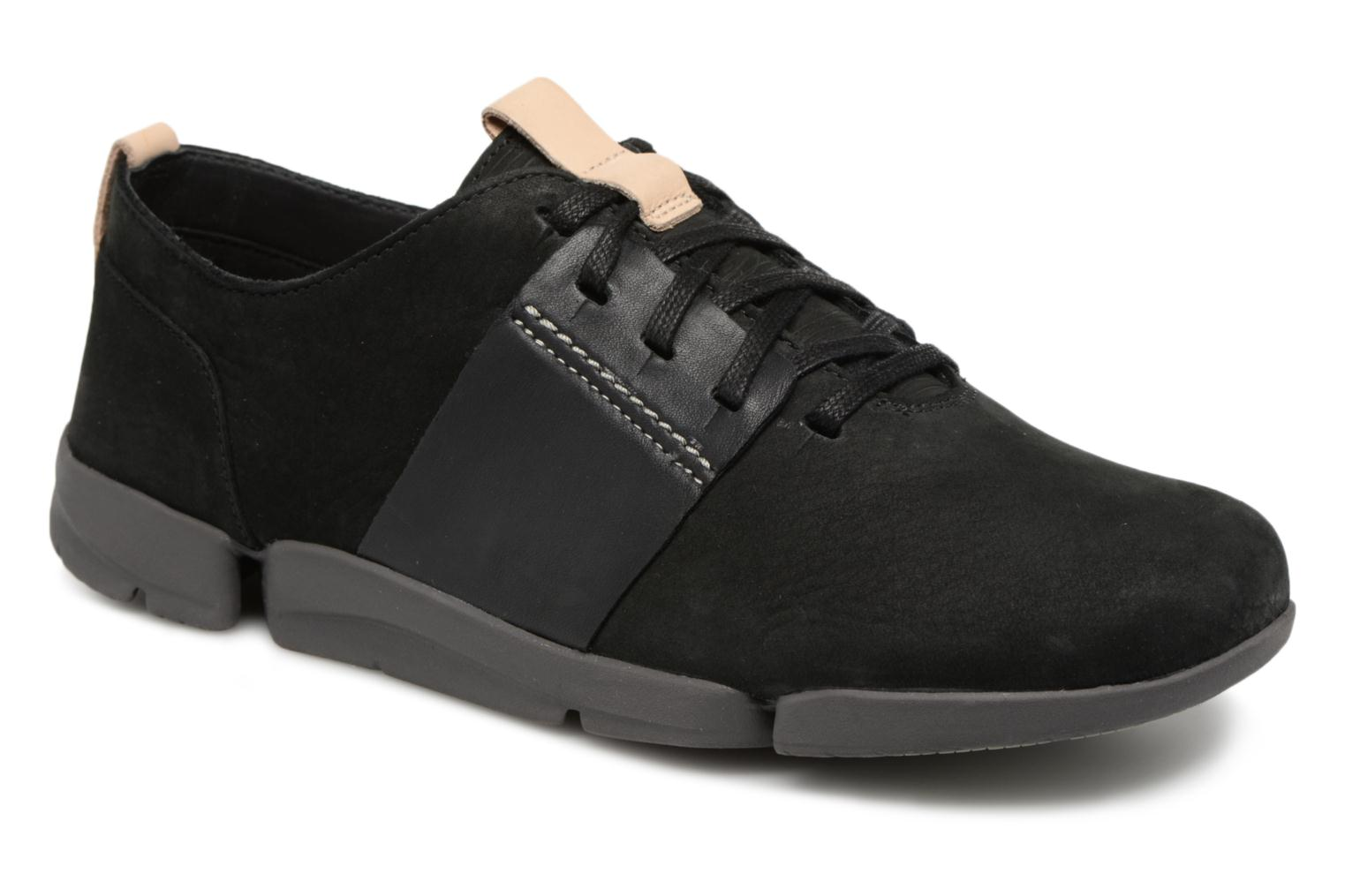 Trainers Clarks Tri Caitlin Black detailed view/ Pair view