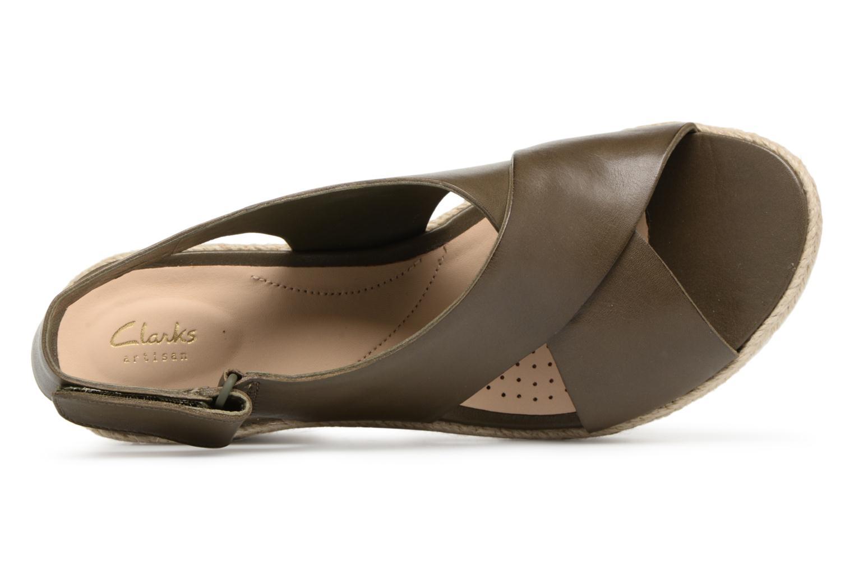 Palm Glow Khaki leather