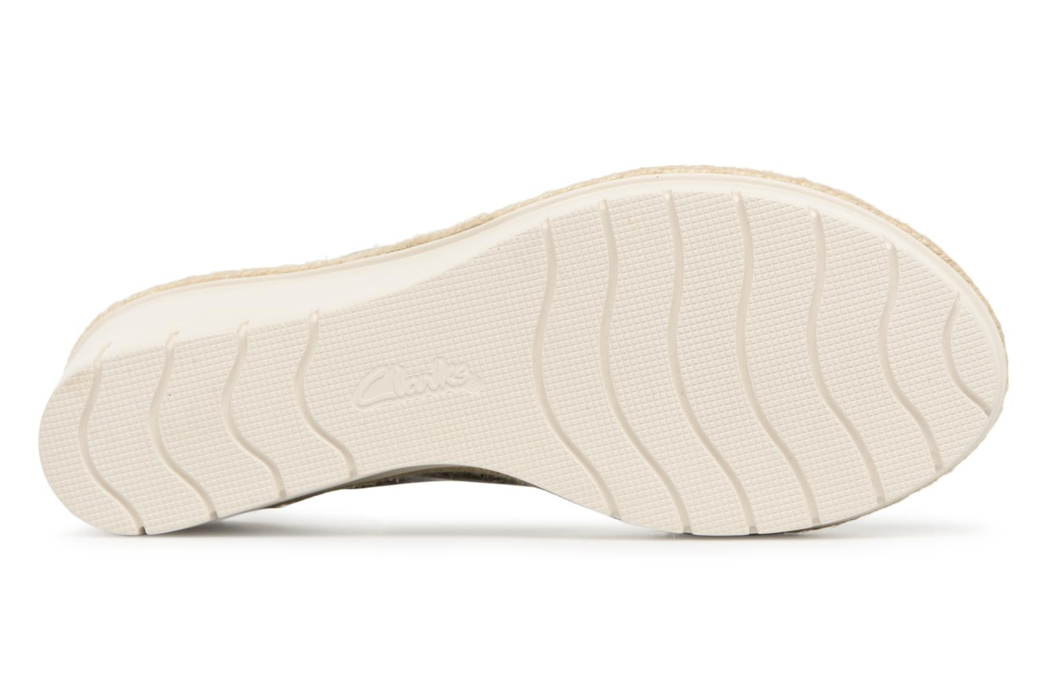 Sandals Clarks Palm Glow Green view from above