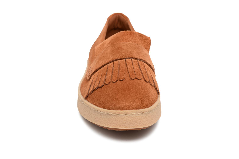 Loafers Clarks Lillia Lottie Brown model view