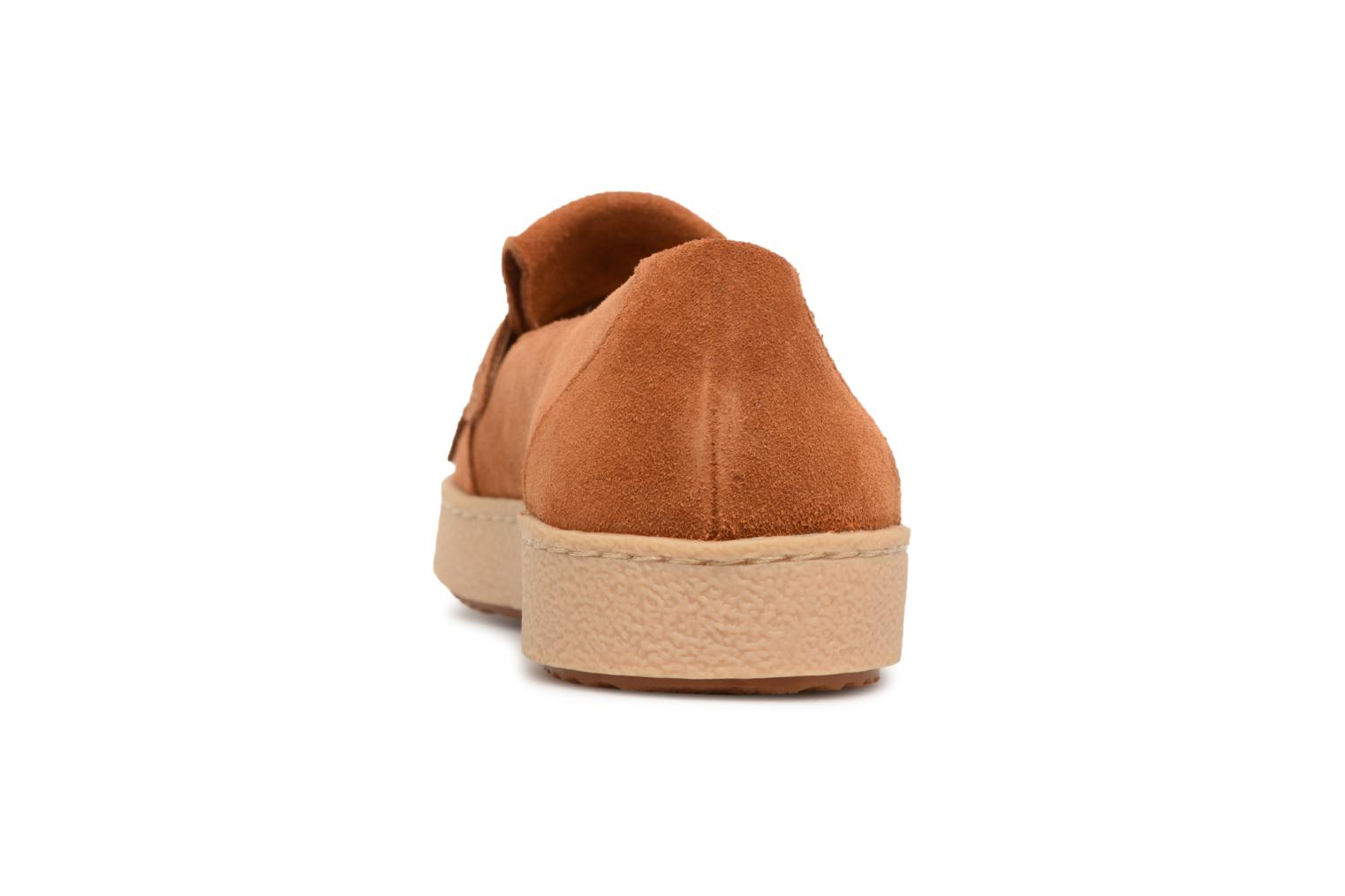 Loafers Clarks Lillia Lottie Brown view from the right
