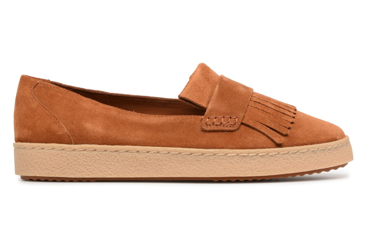 Loafers Clarks Lillia Lottie Brown back view