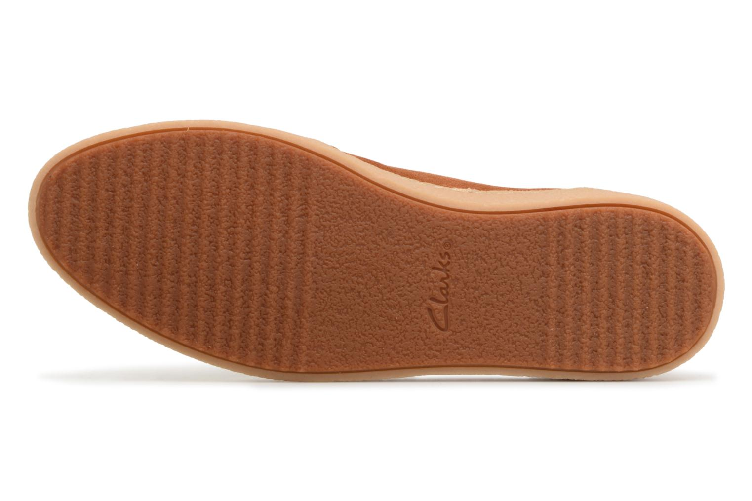 Loafers Clarks Lillia Lottie Brown view from above