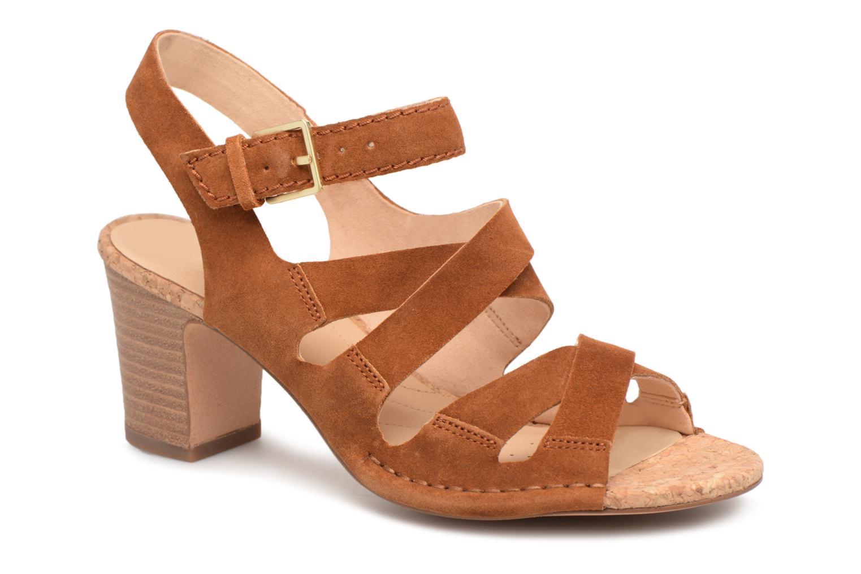 Descuento de la marca Clarks Spiced Ava (Marrón) - Sandalias en Más cómodo