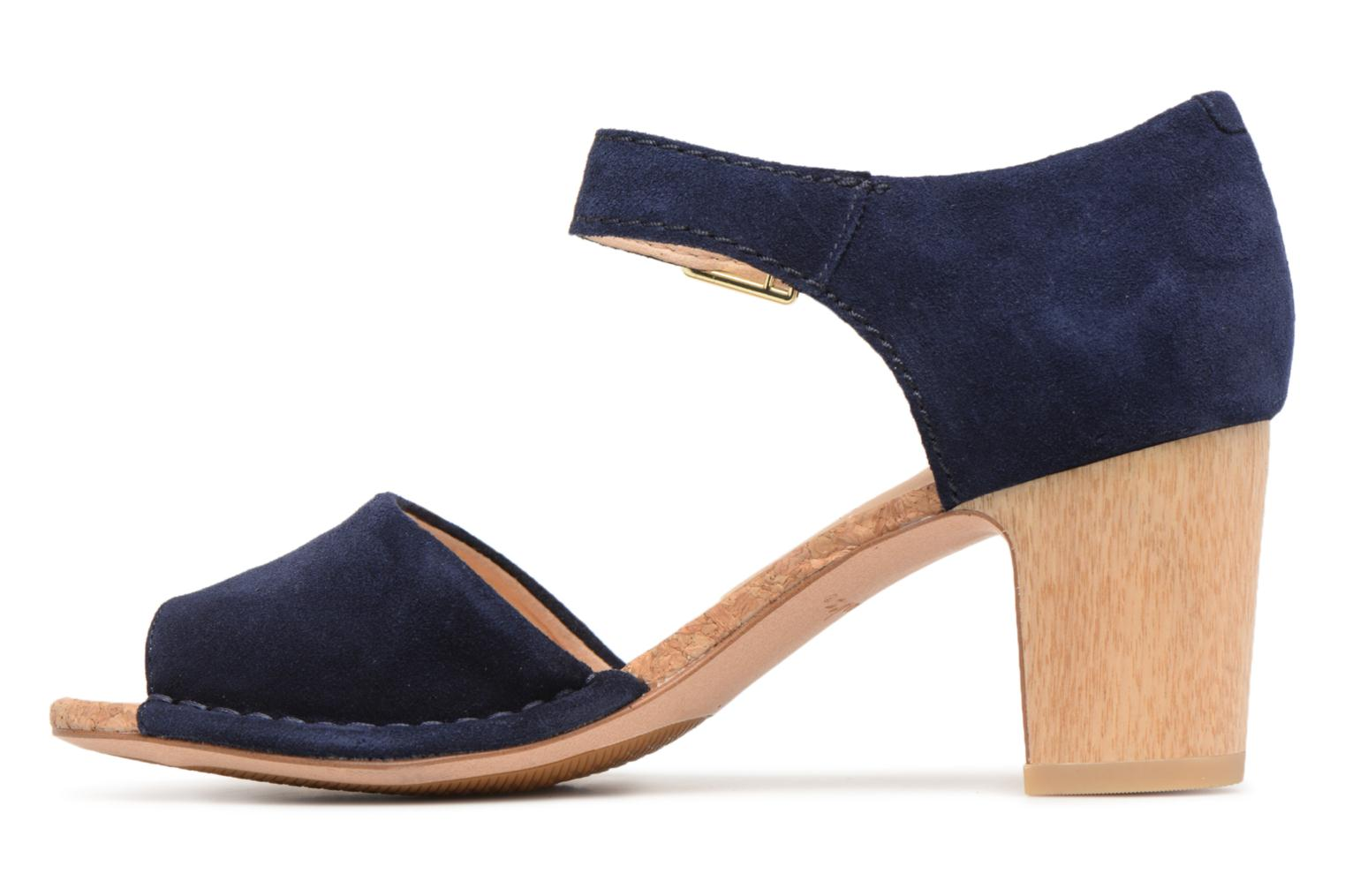 Spiced Olivia Navy Suede