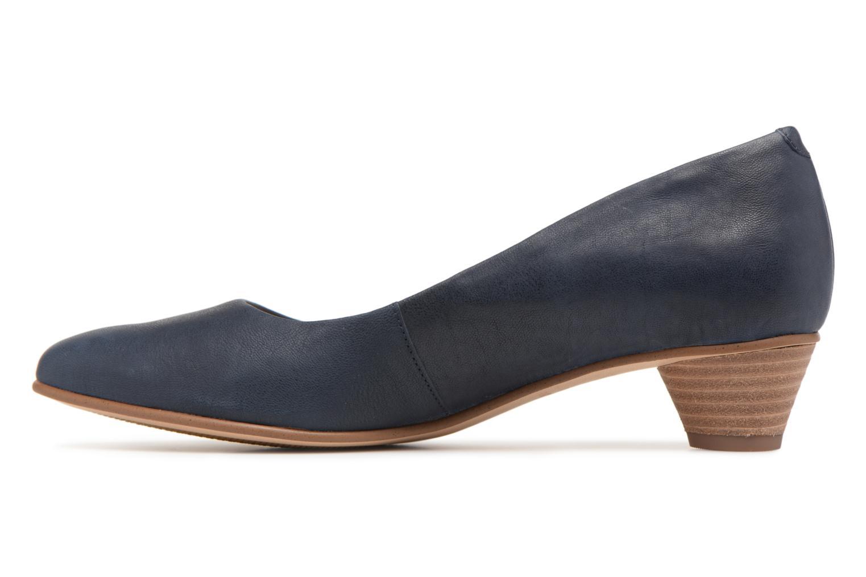 Mena Bloom Navy leather