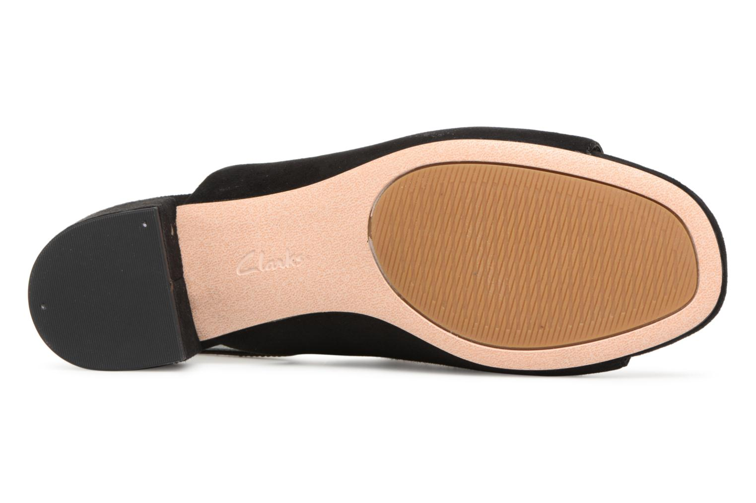 Sandals Clarks Orabella Ivy Black view from above
