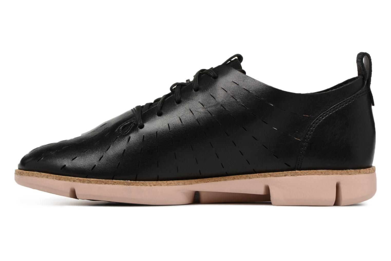 Chaussures à lacets Clarks Tri Etch Noir vue face