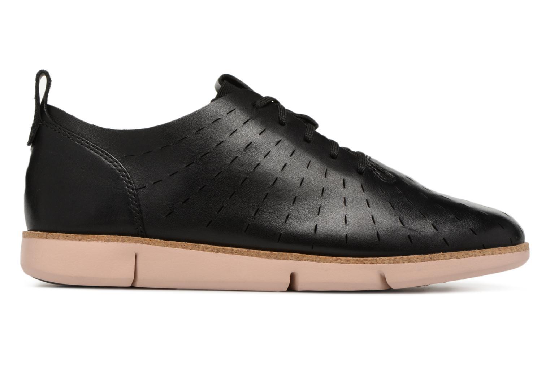 Chaussures à lacets Clarks Tri Etch Noir vue derrière