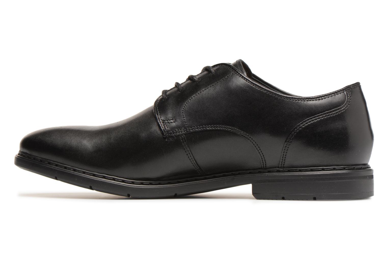 Chaussures à lacets Clarks Banbury Lace Noir vue face