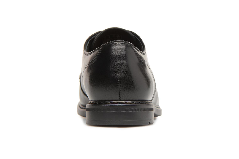 Banbury Lace Black leather