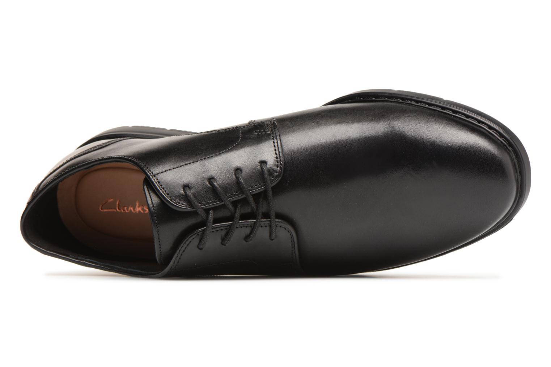 Chaussures à lacets Clarks Banbury Lace Noir vue gauche