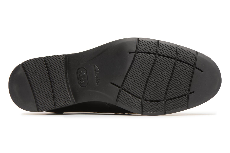 Chaussures à lacets Clarks Banbury Lace Noir vue haut
