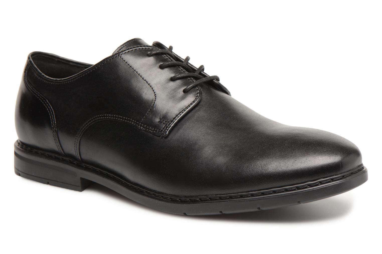 Chaussures à lacets Clarks Banbury Lace Noir vue détail/paire