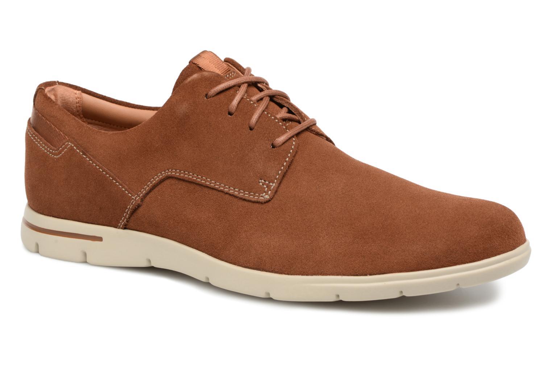Clarks Atticus Lace (Bleu) - Chaussures à lacets chez Sarenza (320102)