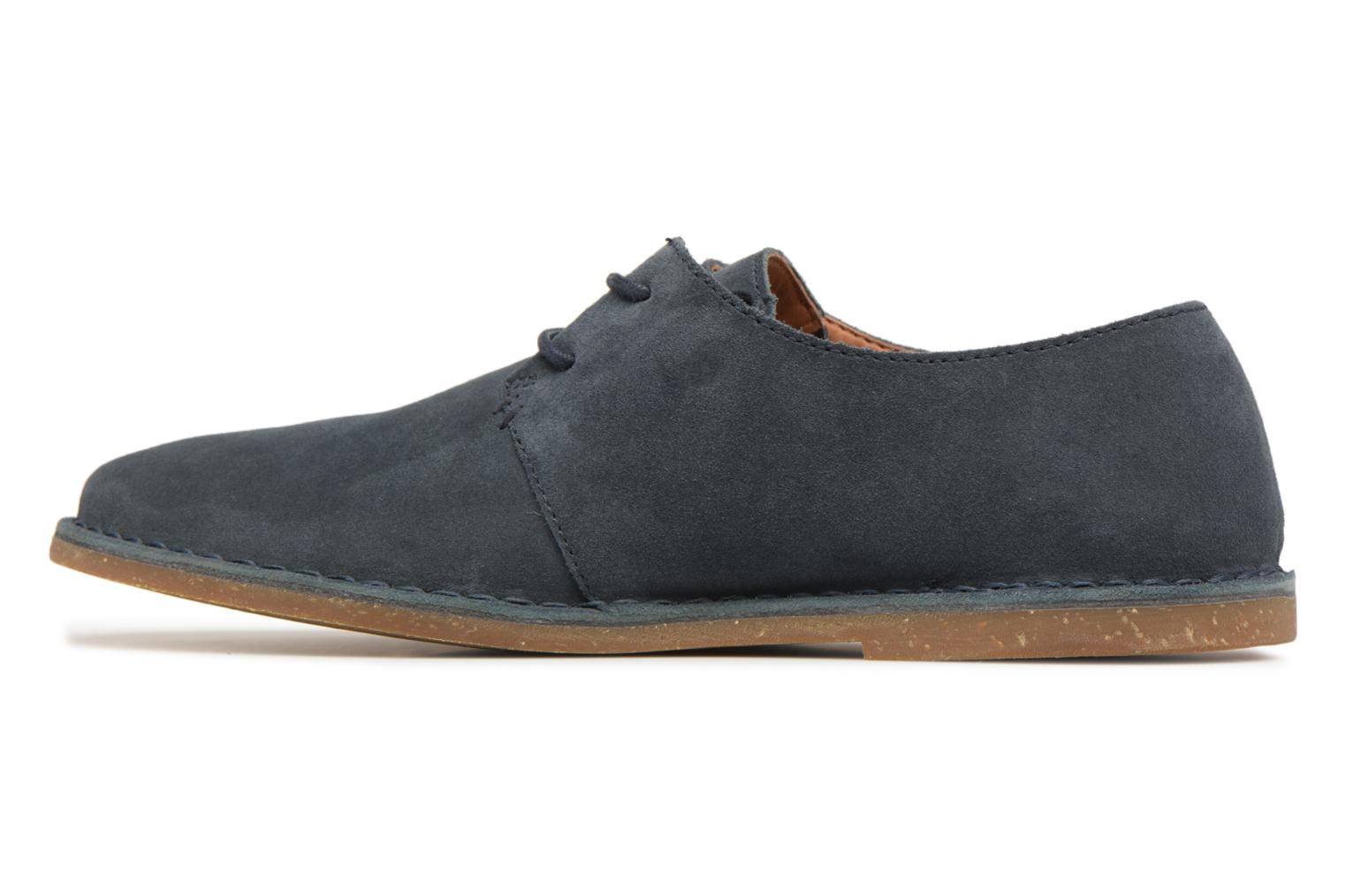 Baltimore Lace Navy Suede