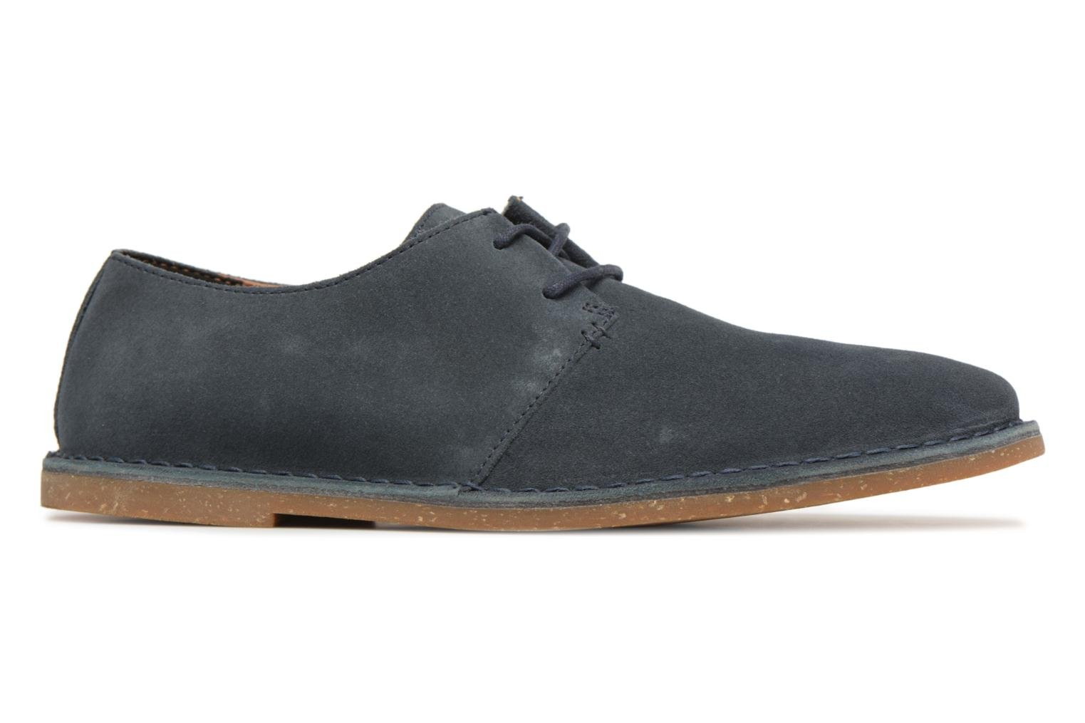 Lace-up shoes Clarks Baltimore Lace Blue back view