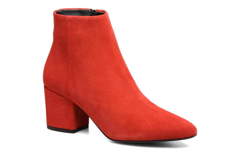 Últimos recortes de precios Vero Moda ASTRID LEATHER BOOT (Rojo) - Botines  chez Sarenza