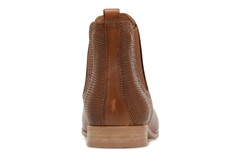 Bottines et boots Georgia Rose Aniline Marron vue droite