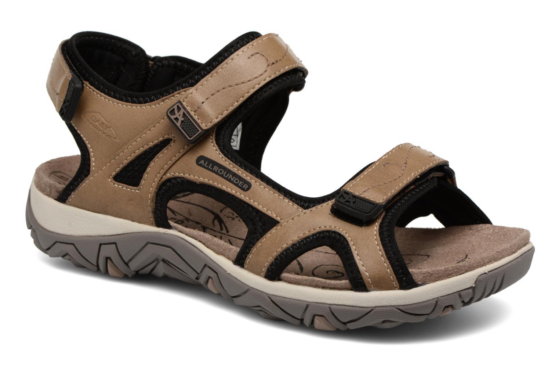 Allrounder by Mephisto Larisa (Marron) - Chaussures de sport chez Sarenza (320299)
