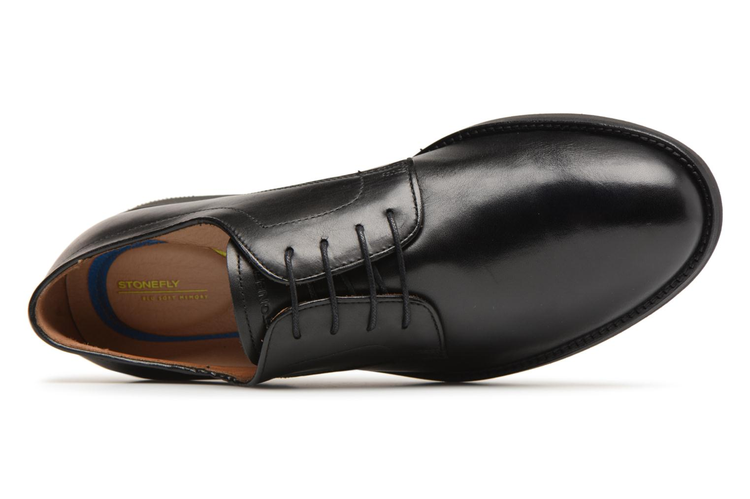 Lace-up shoes Stonefly Casey 1 Black view from the left