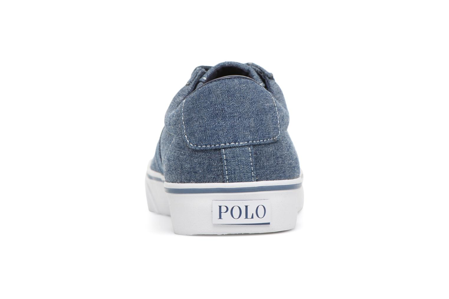 Trainers Polo Ralph Lauren Sayer Blue view from the right