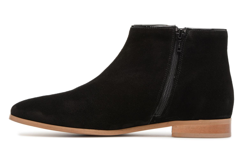 Bottines et boots Georgia Rose Stanoeud Noir vue face