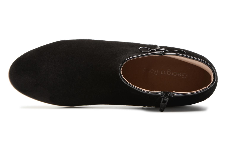 Bottines et boots Georgia Rose Stanoeud Noir vue gauche