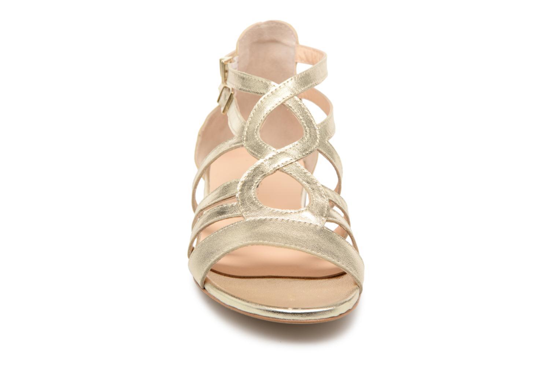 Sandales et nu-pieds Georgia Rose Stephou Or et bronze vue portées chaussures