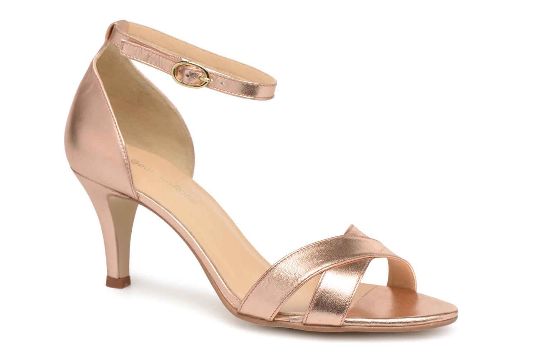 best website 3d935 a605f Georgia Rose Ecrin (Or et bronze) - Sandales et nu-pieds chez Sarenza