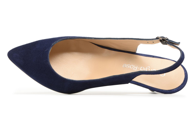 Escarpins Georgia Rose Sokit Bleu vue gauche