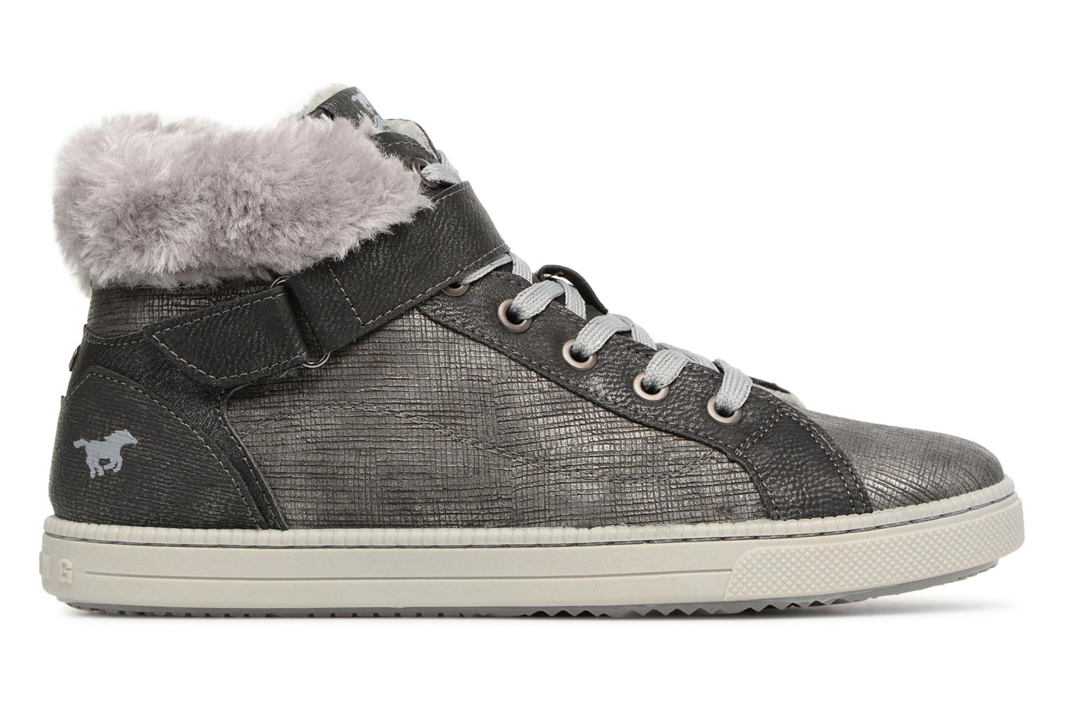 ... 259 graphit Mustang shoes 5042604 Kinder High Top Sneaker (Gris) ...