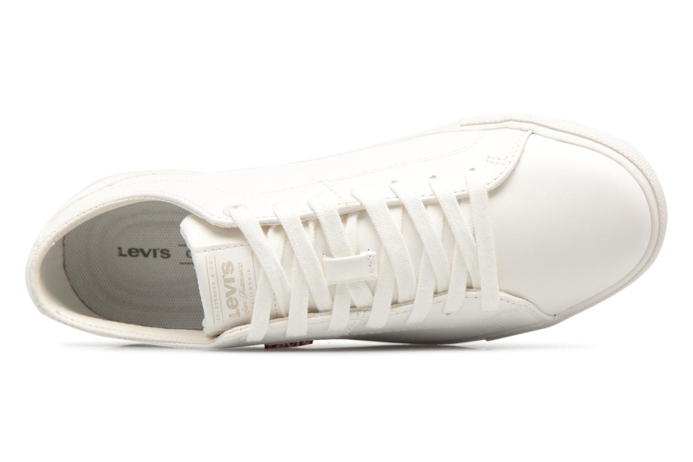 Baskets Levi's Woods W Blanc vue gauche