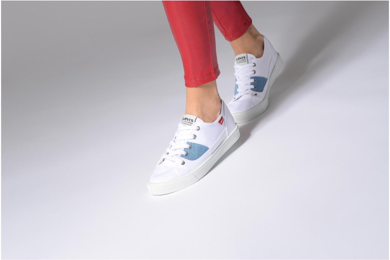Sneakers Levi's Malibu Lady Patch Bianco immagine dal basso