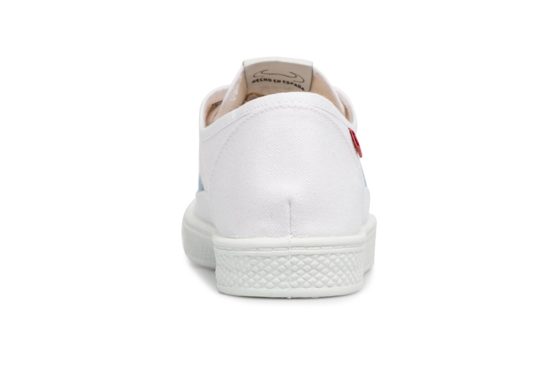 Sneakers Levi's Malibu Lady Patch Bianco immagine destra