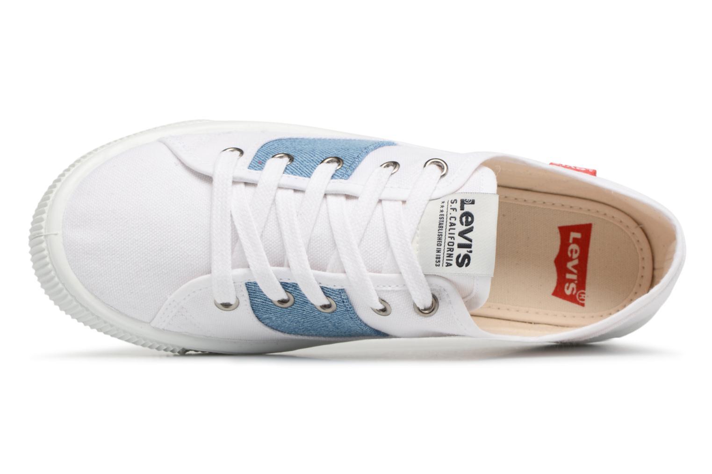 Sneakers Levi's Malibu Lady Patch Bianco immagine sinistra