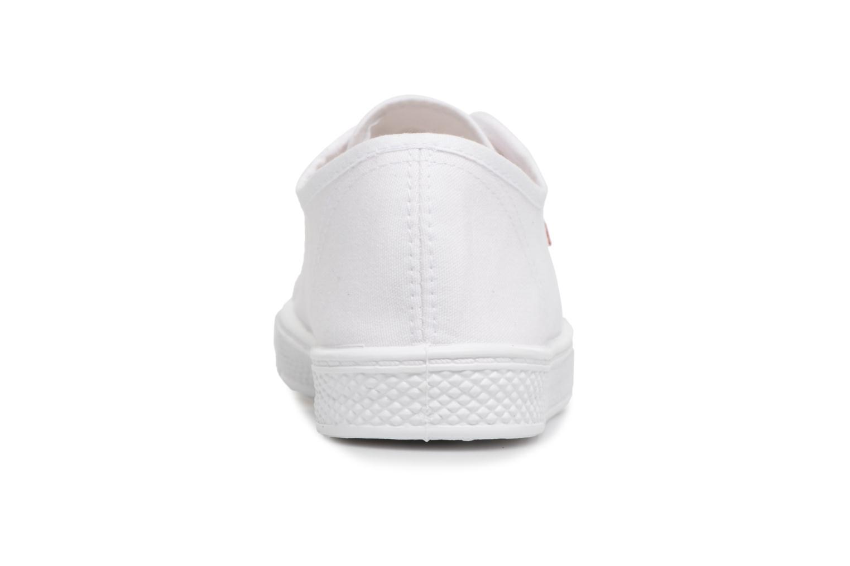 Baskets Levi's Malibu W Blanc vue droite