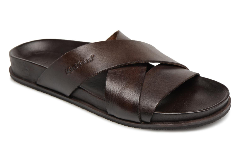 Kickers Sandola (Marron) - Sandales et nu-pieds chez Sarenza (320838)