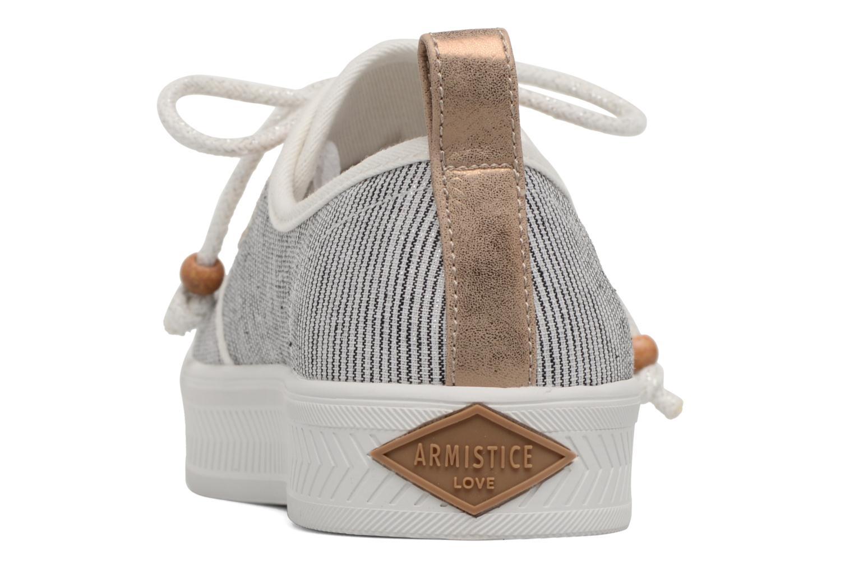 Baskets Armistice Sonar One Stripe W Noir vue droite