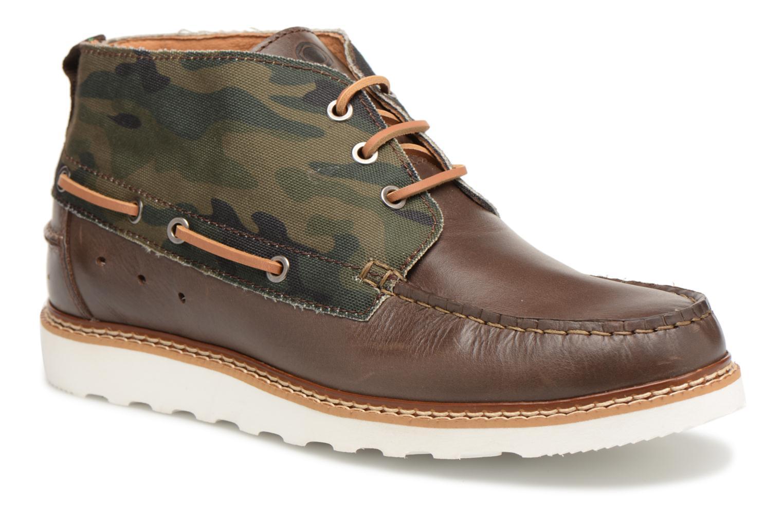 Bottines et boots Mr SARENZA Sunderland Vert vue droite