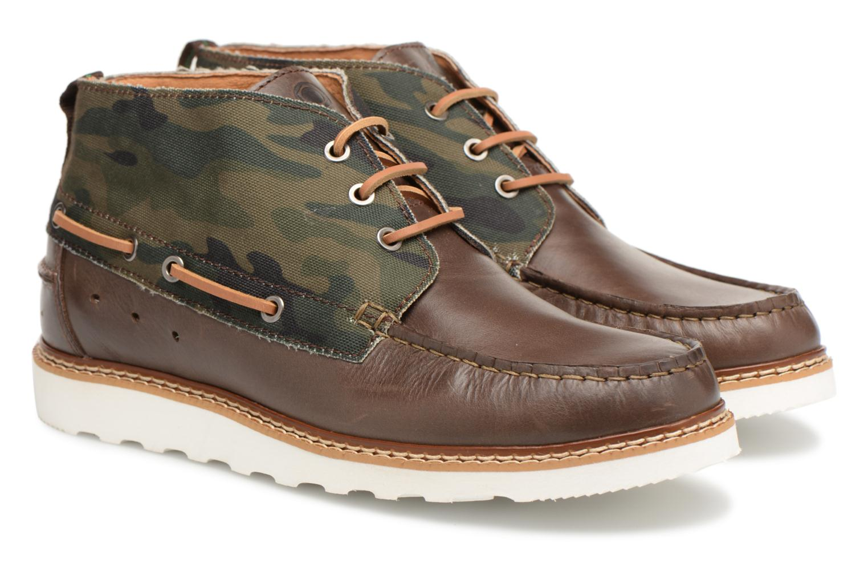 Bottines et boots Mr SARENZA Sunderland Vert vue derrière
