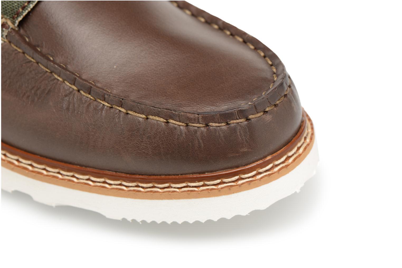 Bottines et boots Mr SARENZA Sunderland Vert vue gauche