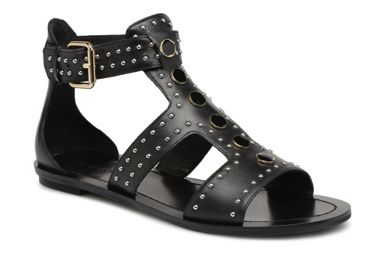 Zapatos promocionales What For Az (Negro) - Sandalias   Cómodo y bien parecido