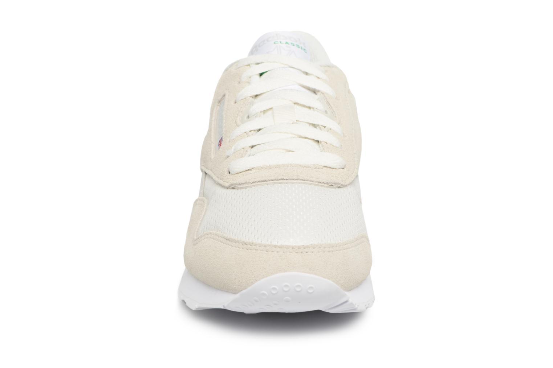 Baskets Reebok CL NYLON FBT Gris vue portées chaussures