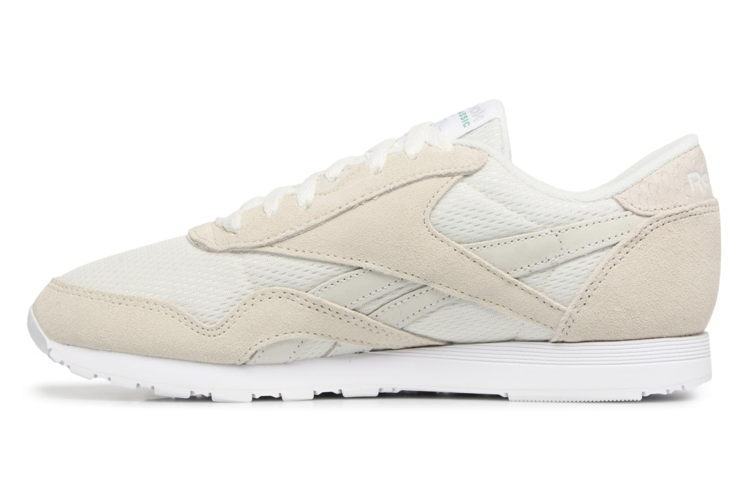 Baskets Reebok CL NYLON FBT Gris vue face