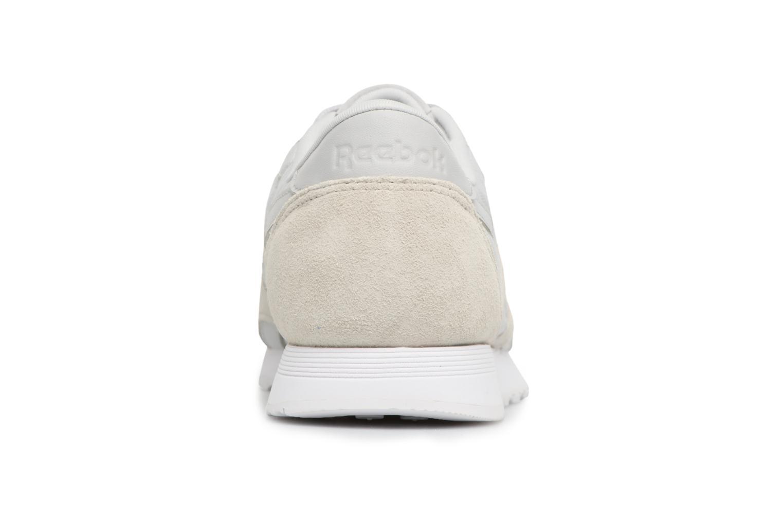 HS- SKULL GREY/WHITE Reebok CL nylon (Gris)