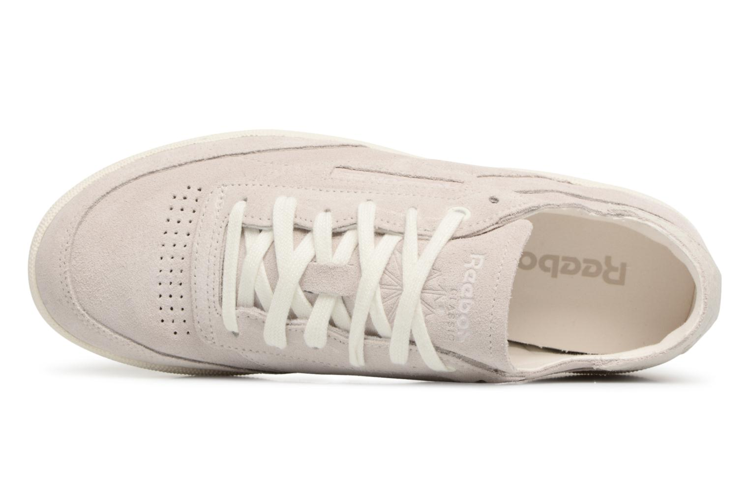 Baskets Reebok CLUB C 85 FBT DECON Gris vue gauche
