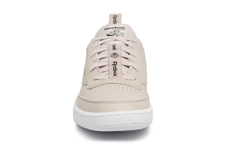 Baskets Reebok CLUB C 85 IT Gris vue portées chaussures